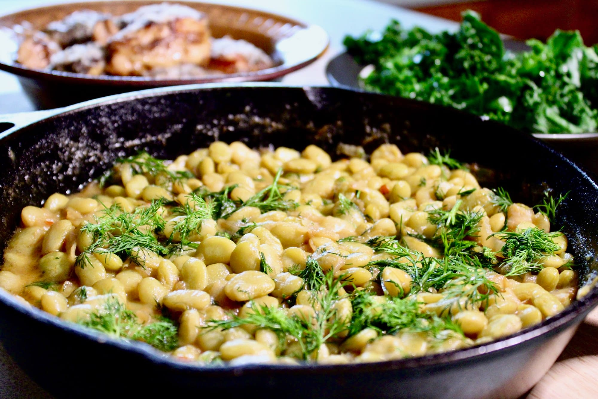 Shuggie's Totally Southern Lima Beans