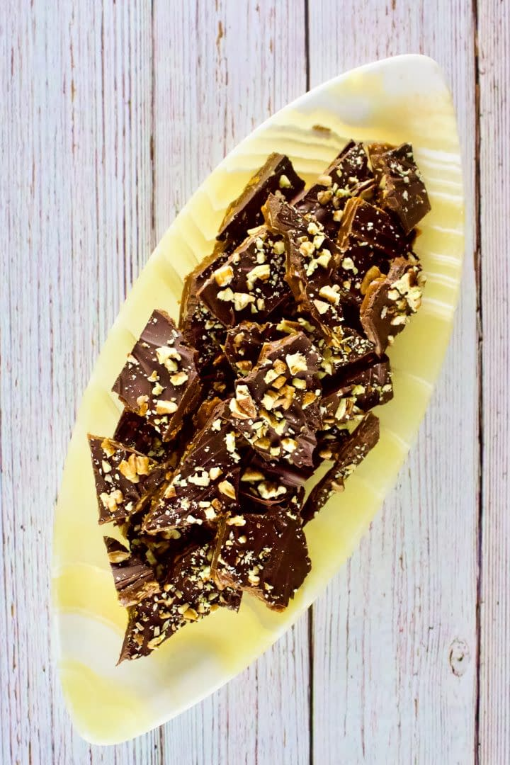Almond Crunch Toffee Candy